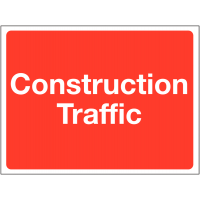 Construction Traffic Warning Signs