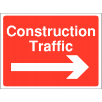 Construction Traffic Warning Signs (Arrow Right)