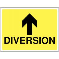 Diversion Signs (Arrow Up)