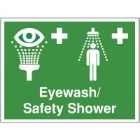 Safety Signs - Eyewash / Shower