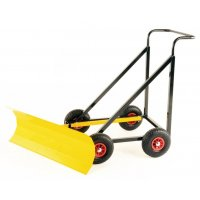 Hard-Wearing Manual Snow Plough with Adjustable Blade