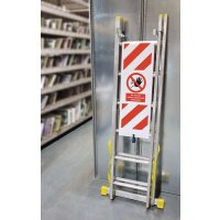 Ladder Lockout Cover to Restrict Unauthorised Access
