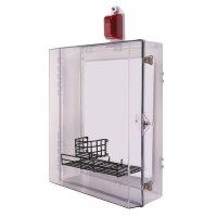 Tough Polycarbonate Defibrillator Cabinet with Optional Alarm