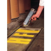 Reusable car park stencil kit