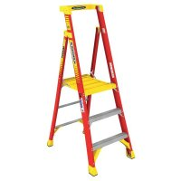 Heavy-duty Fibreglass Step Ladder