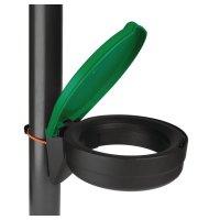 Durable Skipper™ cord mounted waste bin kit