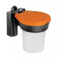 Skipper Suction Wall-Mounted Dispenser for Small PPE Items