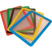 Colour Coded Magnetic Document Frames