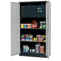 Secure Fire Resistant Cabinet with Safety Box