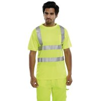 Breathable, cooling high-visibility T-shirt