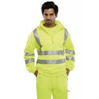 High-Visibility Warm Zip-Up Fleece