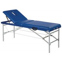 Portable, lightweight folding massage and therapy table