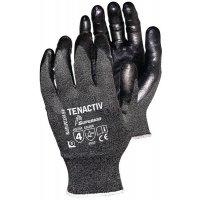 Tenactiv Cut-Resistant Superior Grip Gloves with Nitrile Palms