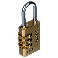 Multi-Purpose Use Recodable Brass Padlock
