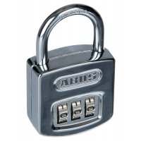 ABUS Chrome 3-Digit Combination Padlock