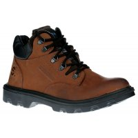 Tough, protective Sherpa leather half boots