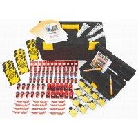 Comprehensive circuit breaker lockout kit