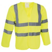 High Visibility, Breathable Long Sleeve Jerkin