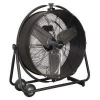 Portable 3-speed High-velocity Drum Fan