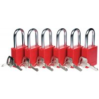Insulated Lockout Safety Padlocks