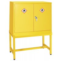Heavy duty COSHH cabinet stand