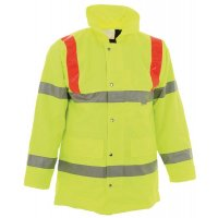 High Visibility, Heavy-Duty Storm Coat