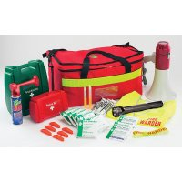 Complete Fire Warden Kit With Maglite Torch and Megaphone