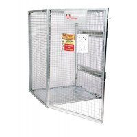 Tuff Collapsible Steel Cage For Cylinder Storage