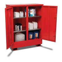 COSHH-compliant flammable material storage units