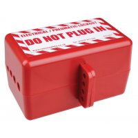Tough Polystyrene Electrical and Pneumatic Lockout Box