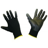 Honeywell Workeasy Black PU/Polyester Work Gloves