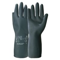 Honeywell Camapren Flock-Lined Chemical-Resistant Gloves