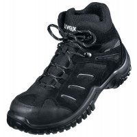 Uvex Classic Motion Leather and Textile Safety Boots with High or Low Profile