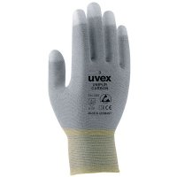 Breathable Uvex Antistatic Unipur Carbon Safety Gloves