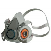 3M™ 6000 Classic Comfort Filtered Half Mask Respirator