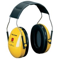 3M Peltor Optime Protective Ear Muffs with Head or Neck Band