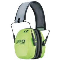 Howard Leight Leightning Hi-Visibility Green Ear Muffs (SNR34)