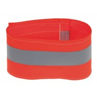 Distinctive single strip reflective PVC armbands