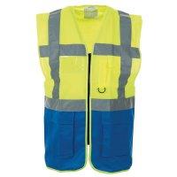Reflective high visibility waistcoat vest