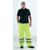 Hi vis reflective over trousers