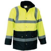 High Visibility Two-Tone PVC Safety Jacket