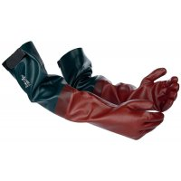 Polyco Long John PVC-Coated Rubber Extended Gloves