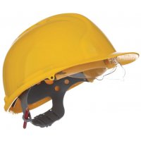 JSP MK 7 Safety Helmet with Built-In Retractable Safety Glasses