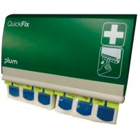 QuickFix Fully Stocked Wall-Mounted First Aid Plaster Dispenser