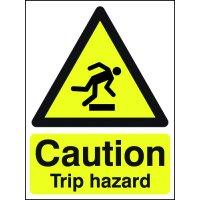 Essential Workplace Caution Trip Hazard Signs