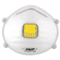 JSP FFP2-rated standard disposable dust mask with elasticated strap