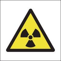 Radiation symbols 25 x 25 mm