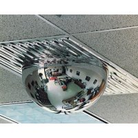 High-impact rounded institution mirrors