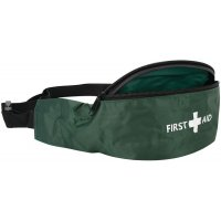 Ultra portable, weather-resistant First Aid Bum Bag