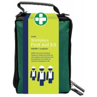 British Standard Compliant First Aid Kit In Soft Bag